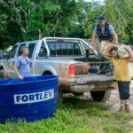 Ação Manancial – Levando Caixa D´água para comunidade Porto Alegre